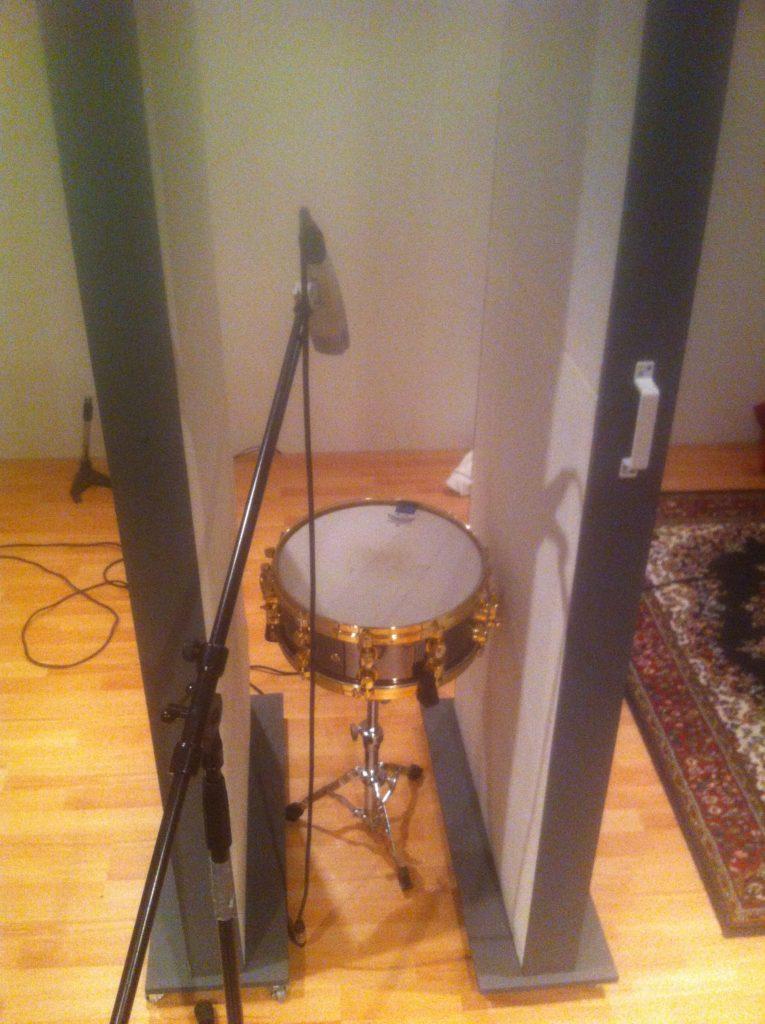 Snare Acoustics Gobo White Noise Studio