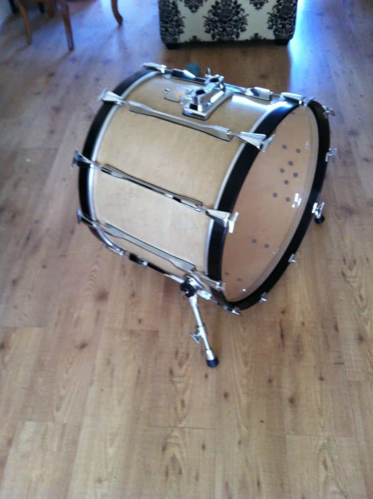 Pearl 24'' CZX Bassdrum restored White Noise Studio 1