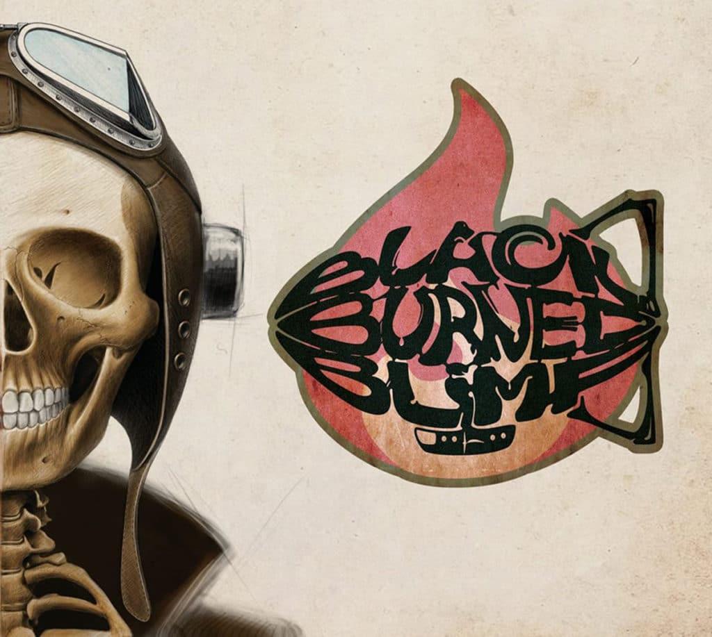 Black burned Blimp EP Cover