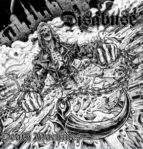 Disabuse - Death Machines Cover