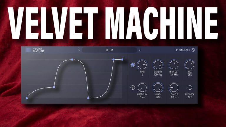 phonolyth velvet machine