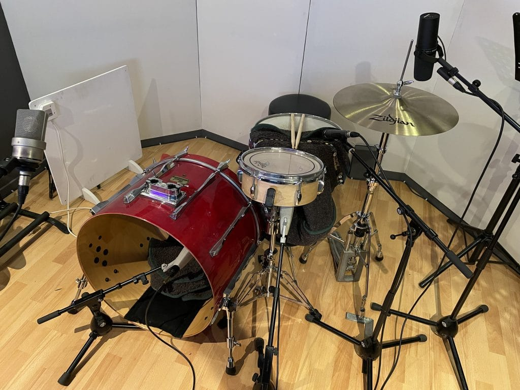 lofi alt pop drums setup