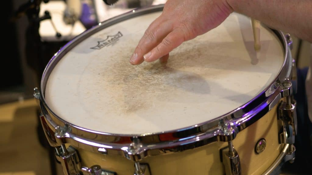 snaredrum head tuning