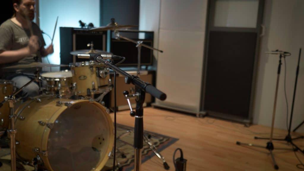 Wide AB drum room