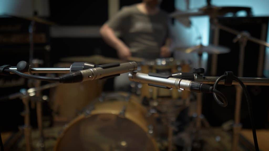 XY Drum Room Recording