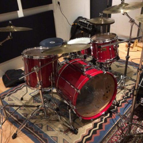 Pearl BLX Drums White Noise Studio