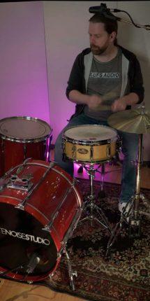 Drums Top Mic + Bassdrum Mic
